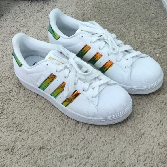 Holographic Striped Ortholite Sneakers